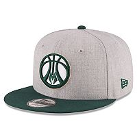Adult New Era Milwaukee Bucks 9FIFTY Adjustable Cap