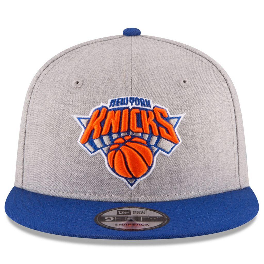 Adult New Era New York Knicks 9FIFTY Adjustable Cap