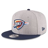 Adult New Era Oklahoma City Thunder 9FIFTY Adjustable Cap