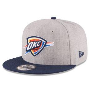 Adult New Era Oklahoma City Thunder 9FIFTY Adjustable Cap
