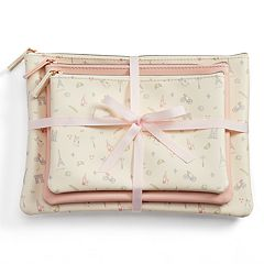 LC Lauren Conrad Paris Cosmetic Bag Set