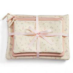 LC Lauren Conrad Paris Cosmetic Bag Set