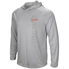 Men's Majestic Baltimore Orioles Authentic Collection Hoodie Tee