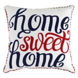 ''Home Sweet Home'' Throw Pillow