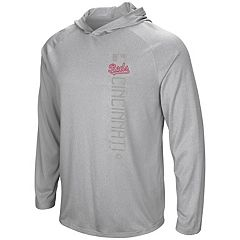 Men's Majestic Cincinnati Reds Authentic Collection Hoodie Tee