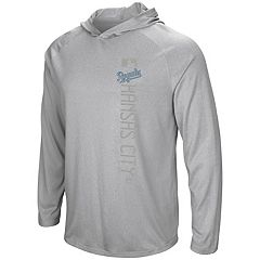 Men's Majestic Kansas City Royals Authentic Collection Hoodie Tee