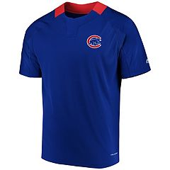 Men's Majestic Chicago Cubs Woven Tee