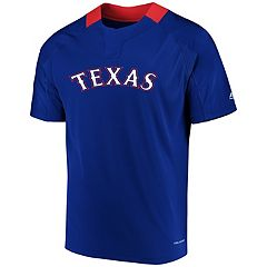 Men's Majestic Texas Rangers Woven Tee