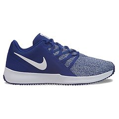91f170bccf9ea Nike Varsity Compete Trainer Men s Cross Training Shoes. Dark Gray Silver  Black Crimson Deep Royal Blue White. sale