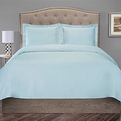 Grand Collection 300 Thread Count Cotton Duvet Cover Set