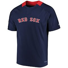 Men's Majestic Boston Red Sox Woven Tee