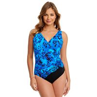 Women's Great Lengths Tummy Slimmer Ruffle One-Piece Swimsuit