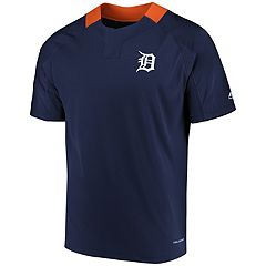 Men's Majestic Detroit Tigers Woven Tee