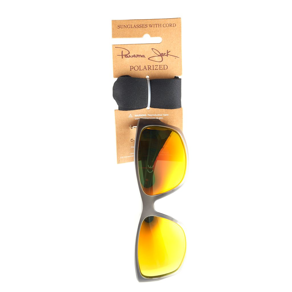 Men's Panama Jack Wrap Sunglasses