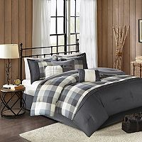 Madison Park Pioneer 7-piece Plaid Comforter Set