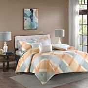 Madison Park Cory Flannel Comforter Set