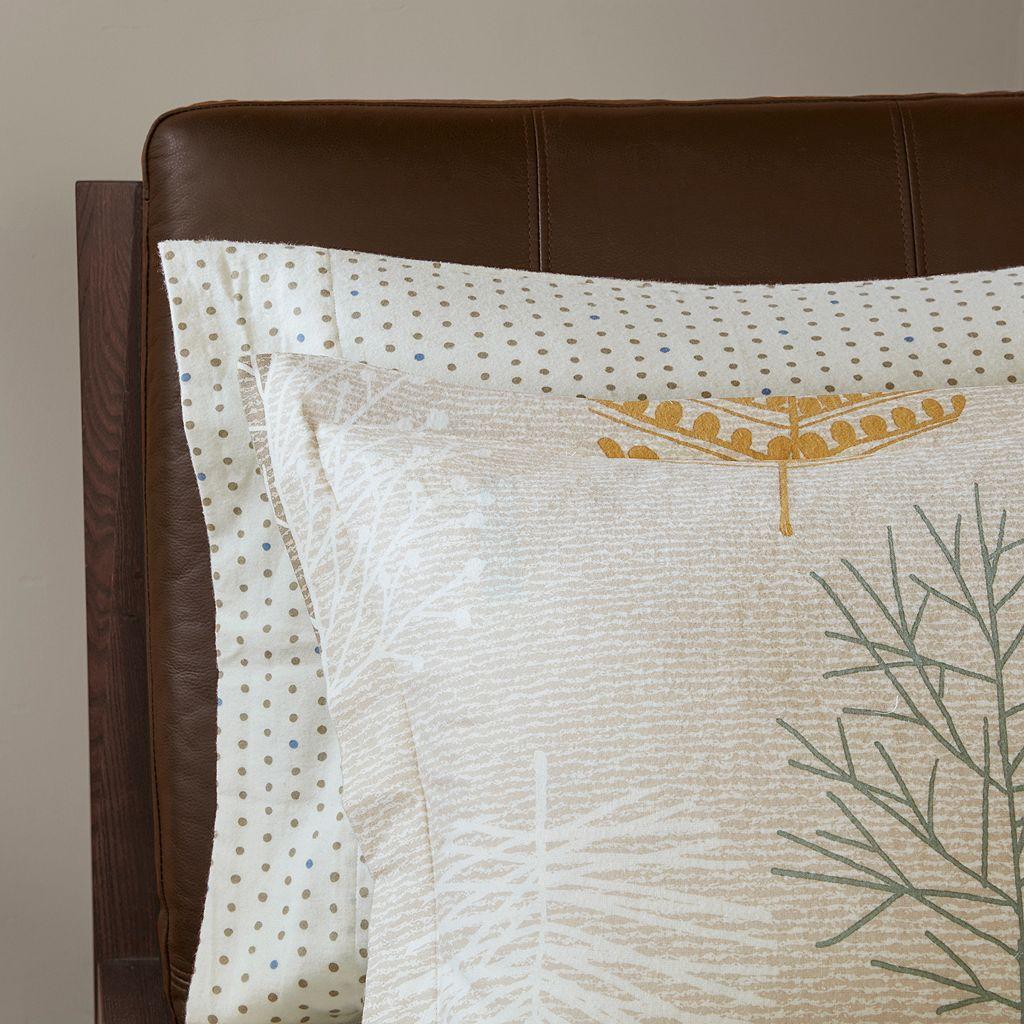 Madison Park Lina 7-piece Flannel Comforter Set