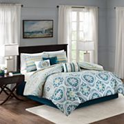 Madison Park Delta 7 pc Printed Comforter Set