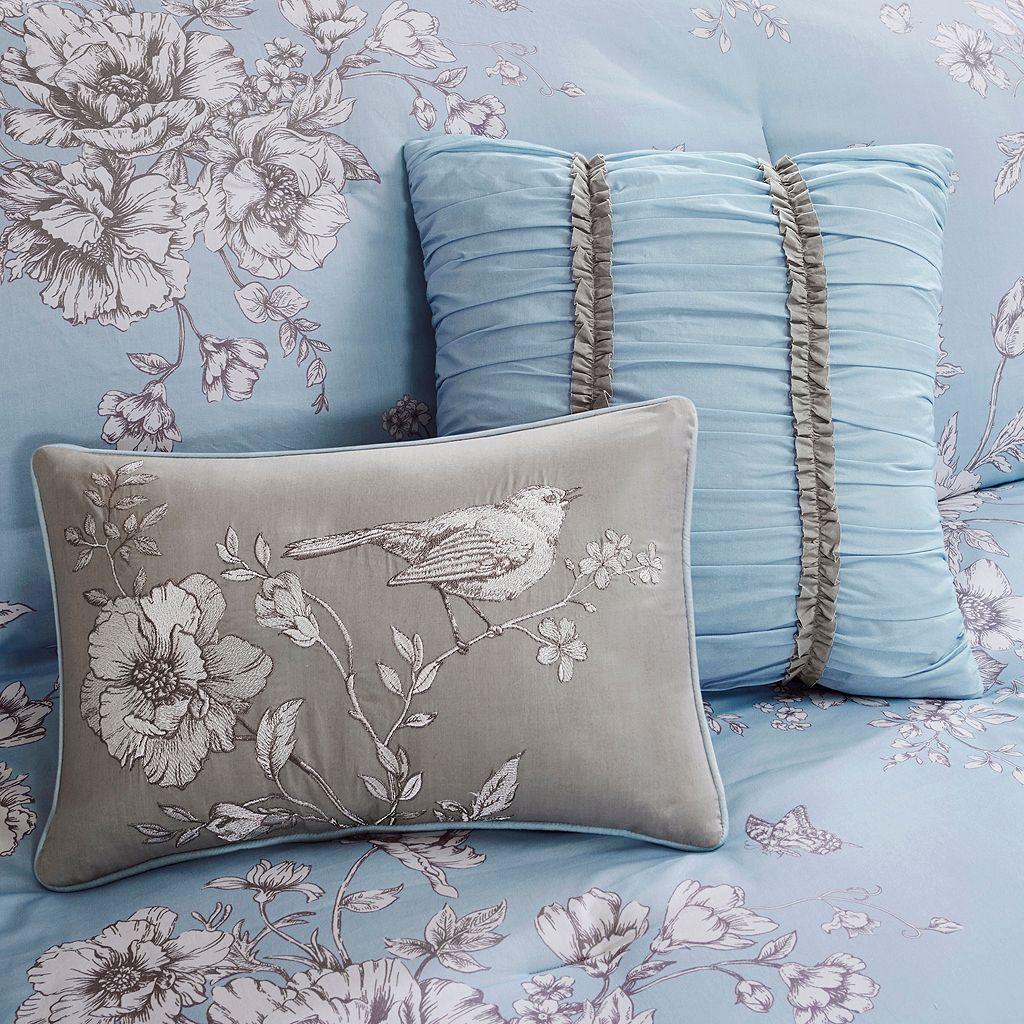 Madison Park Claire 8-piece Floral Comforter Set