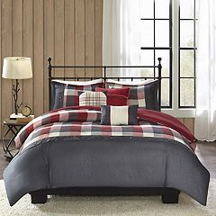 Madison Park Pioneer 6-piece Plaid Duvet Cover Set