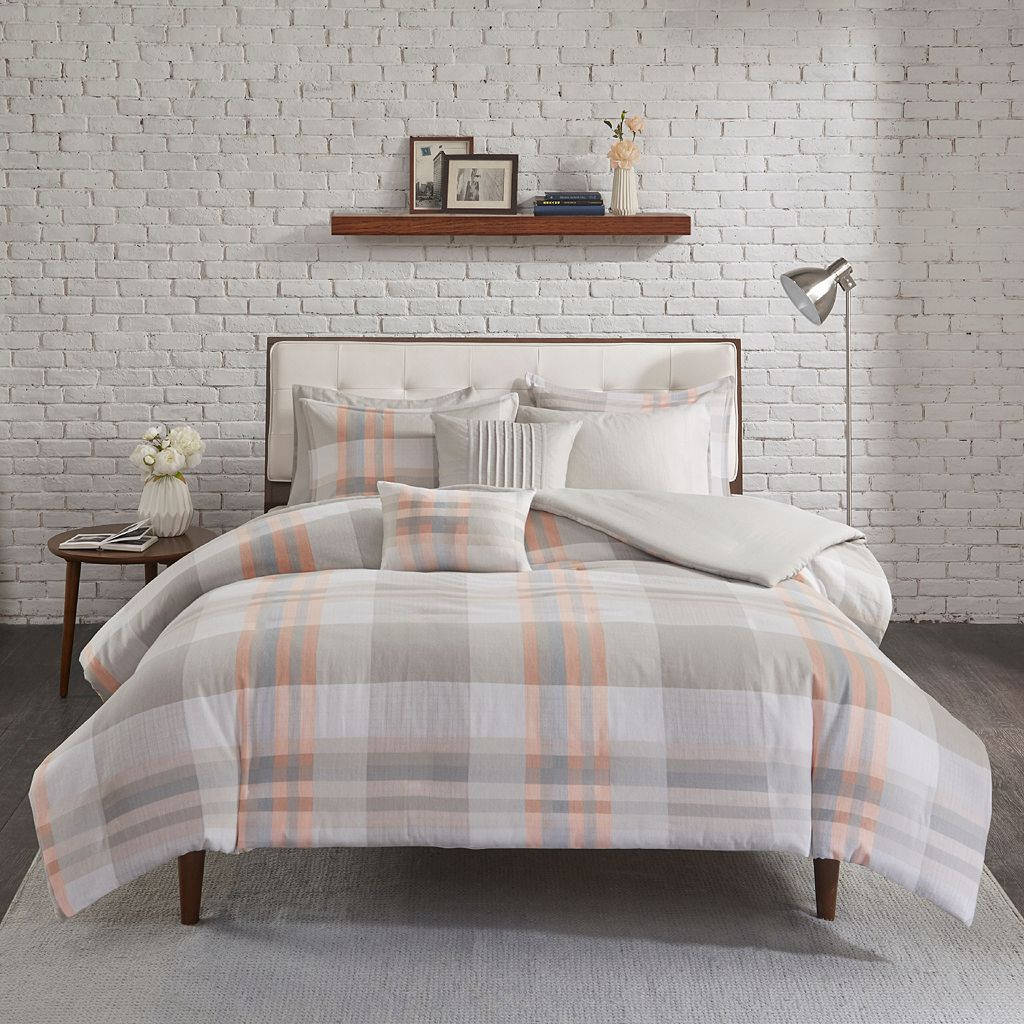 Madison Park Miller Flannel Duvet Cover