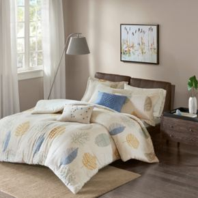 Madison Park Lina Flannel Duvet Cover Set