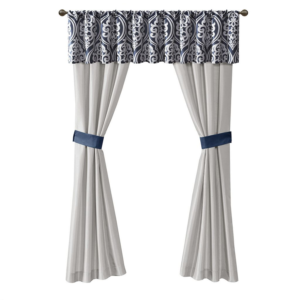 Madison Park Charley 24-piece Bed & Window Curtain Set