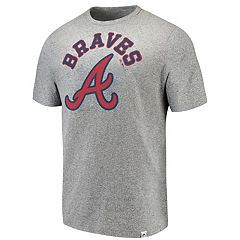 Men's Majestic Atlanta Braves Stand Up Tee