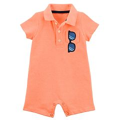 Baby Boy Carter's Sunglasses Polo Romper