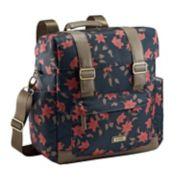 JJ Cole Knapsack Floral Diaper Bag