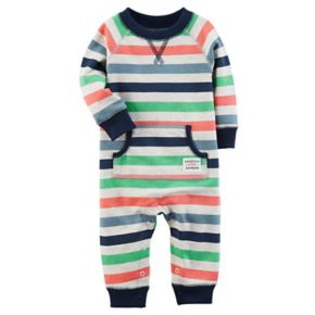Baby Boy Carter's Striped Coverall