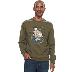 Men's Croft & Barrow® Graphic Fleece Sweater