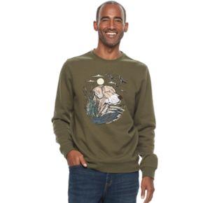 Men's Croft & Barrow® Graphic Fleece Sweater