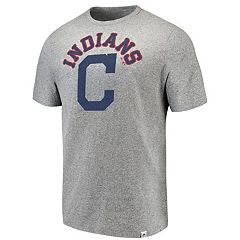 Men's Majestic Cleveland Indians Stand Up Tee