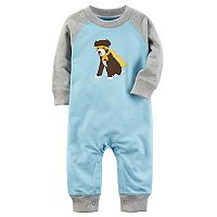 Baby Boy Carter's Super Dog Raglan Coverall