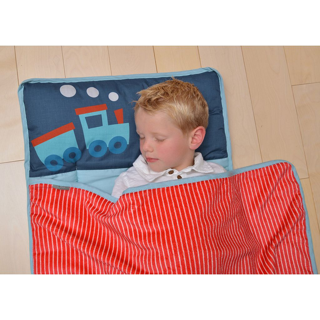 Little JJ Cole Train Nap Mat