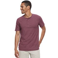 Men's SONOMA Goods for Life™ Short-Sleeve Supersoft Henley