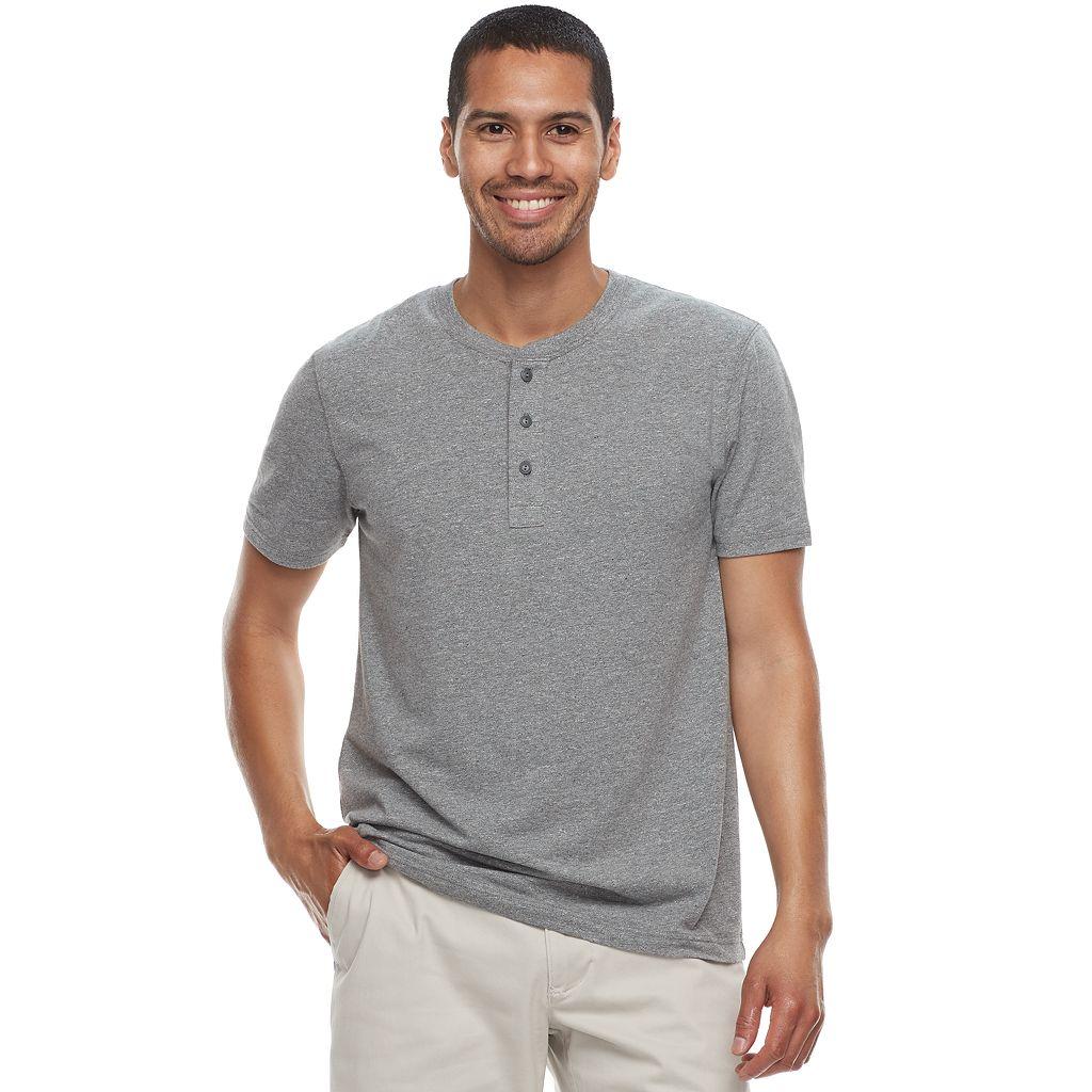 Men's SONOMA Goods for Life™ Short-Sleeve Supersoft Henley