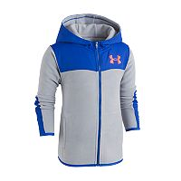 Boys 4-7 Under Armour Colorblock Zip-Up Hoodie