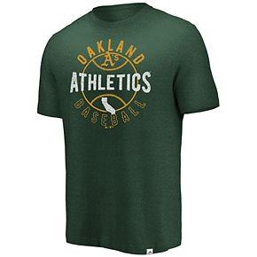 Men's Majestic Oakland Athletics State Tee