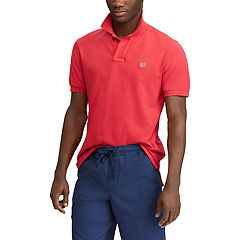 Big & Tall Chaps Classic-Fit Pique Mesh Stretch Polo