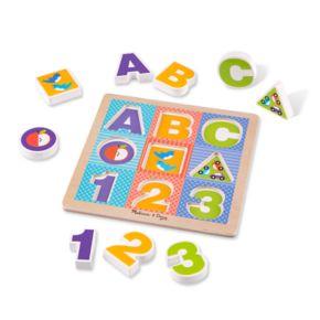 Melissa & Doug ABC - 123 Chunky Puzzle