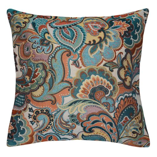Spencer Home Decor Josetta Floral Paisley Throw Pillow
