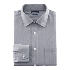 Big & Tall Croft & Barrow® Classic-Fit Easy-Care Spread-Collar Dress Shirt