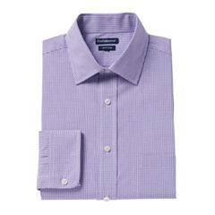Big & Tall Croft & Barrow® Regular-Fit Easy-Care Spread-Collar Dress Shirt