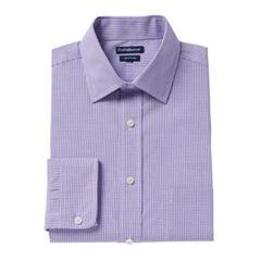 Big & Tall Croft & Barrow® Regular-Fit Easy-Care Spread-Collar Dress Shirt
