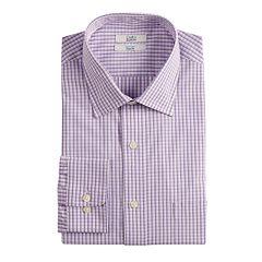 Big & Tall Croft & Barrow® Classic-Fit Easy-Care Spread-Collar Dress Shirt
