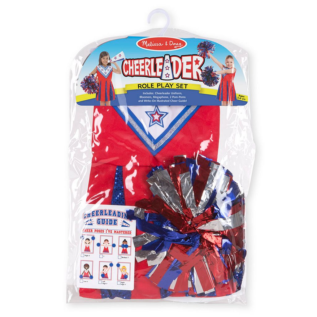 Melissa & Doug Cheerleader Playset