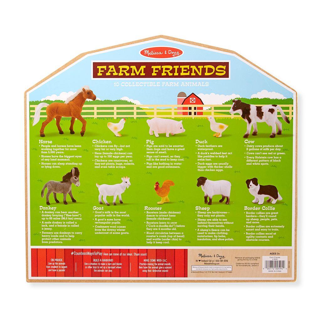 Melissa & Doug Farm Friend Collectibles