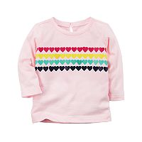 Baby Girl Carter's Rainbow Heart Tunic